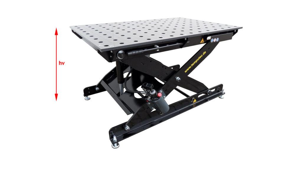 "SST 65-105/16S, flexible Höhe der Tischplatte ""hv"""